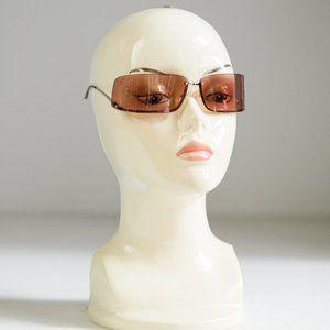 Vintage Trussardi Wrap Around 90s Sunglasses